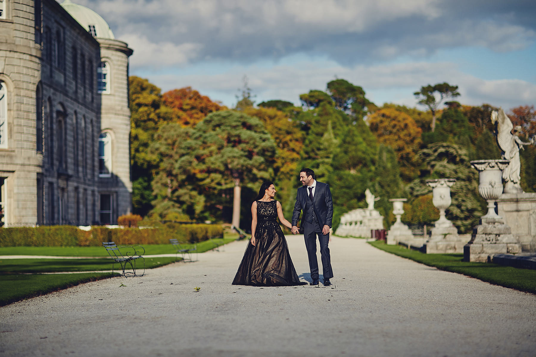 Engagement session Powerscourt Gardens 001