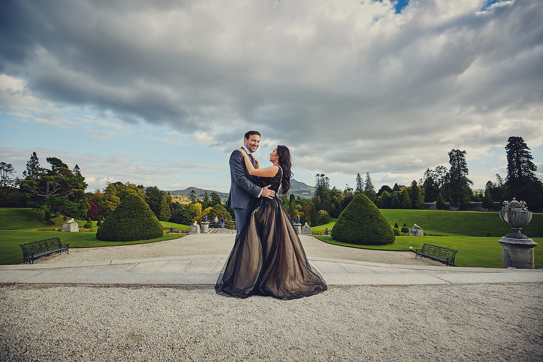 Engagement session Powerscourt Gardens 003