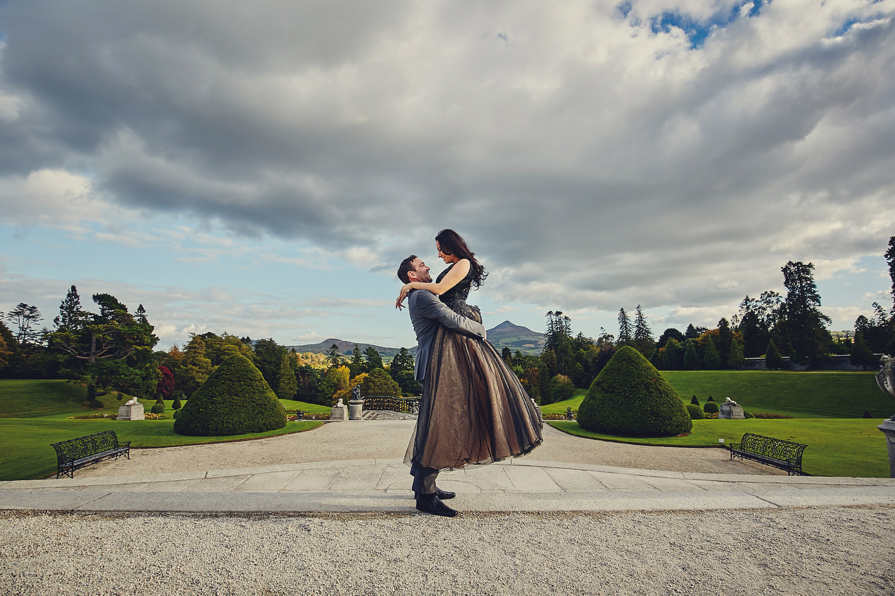 Engagement session Powerscourt Gardens 004