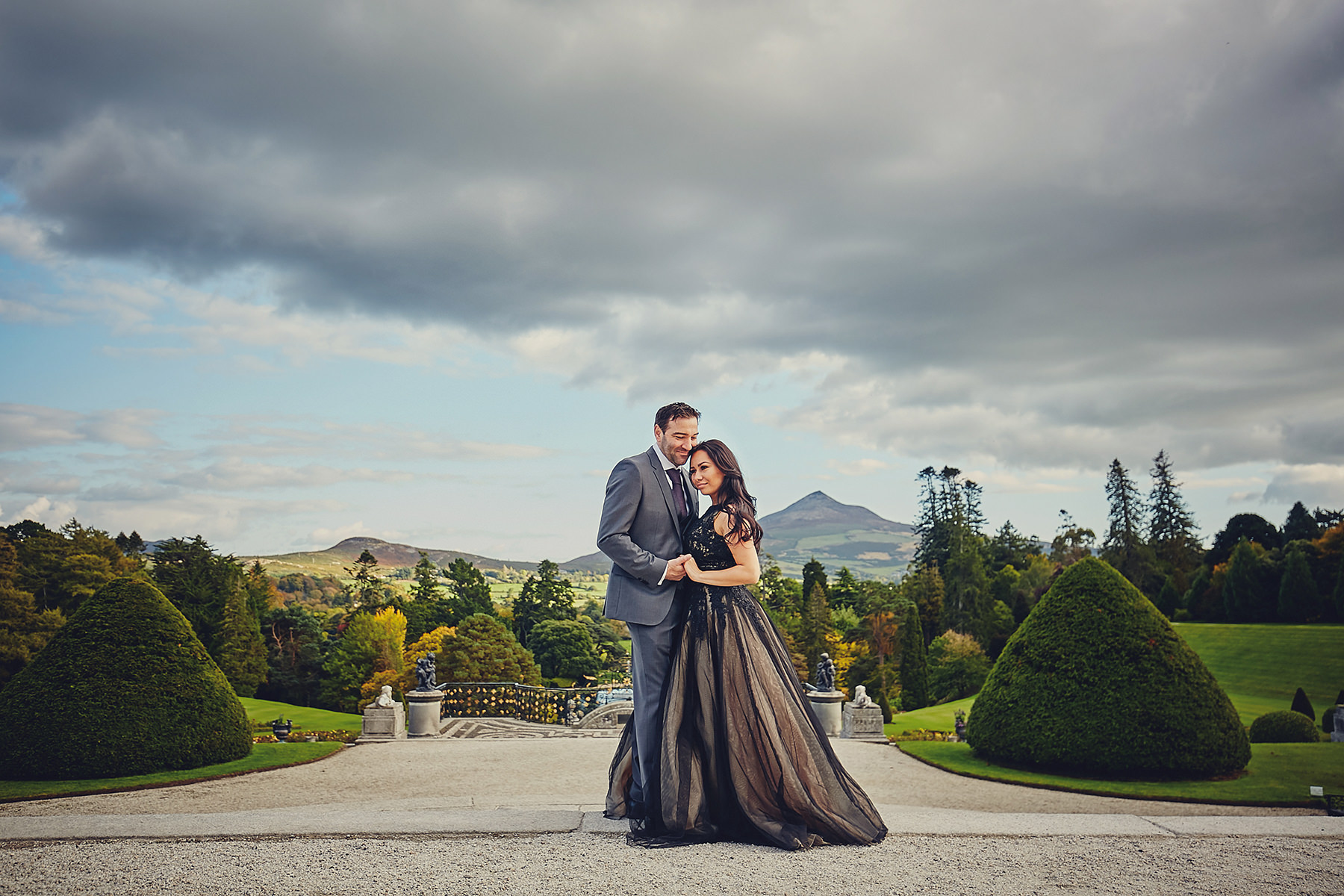 Engagement session Powerscourt Gardens 005