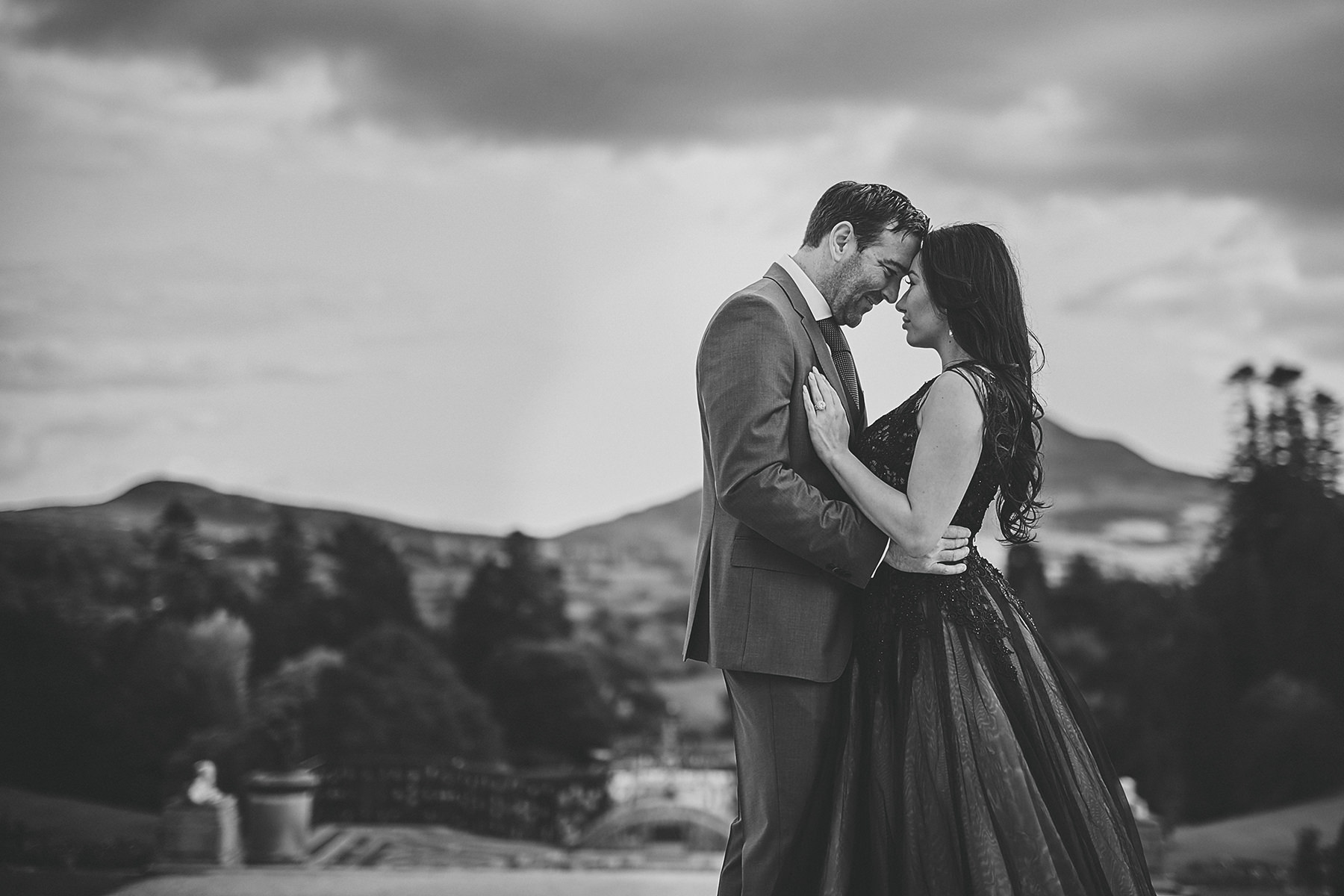Engagement session Powerscourt Gardens 006