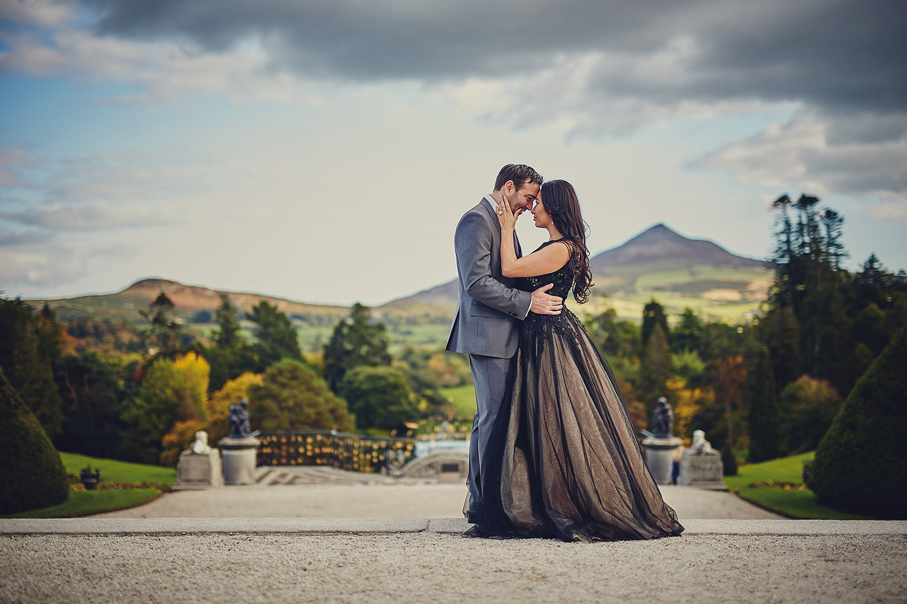 Engagement session Powerscourt Gardens 007
