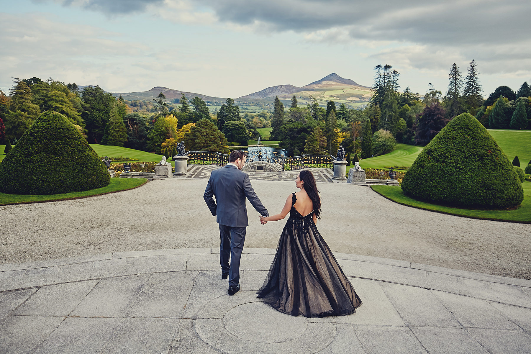 Engagement session Powerscourt Gardens 023