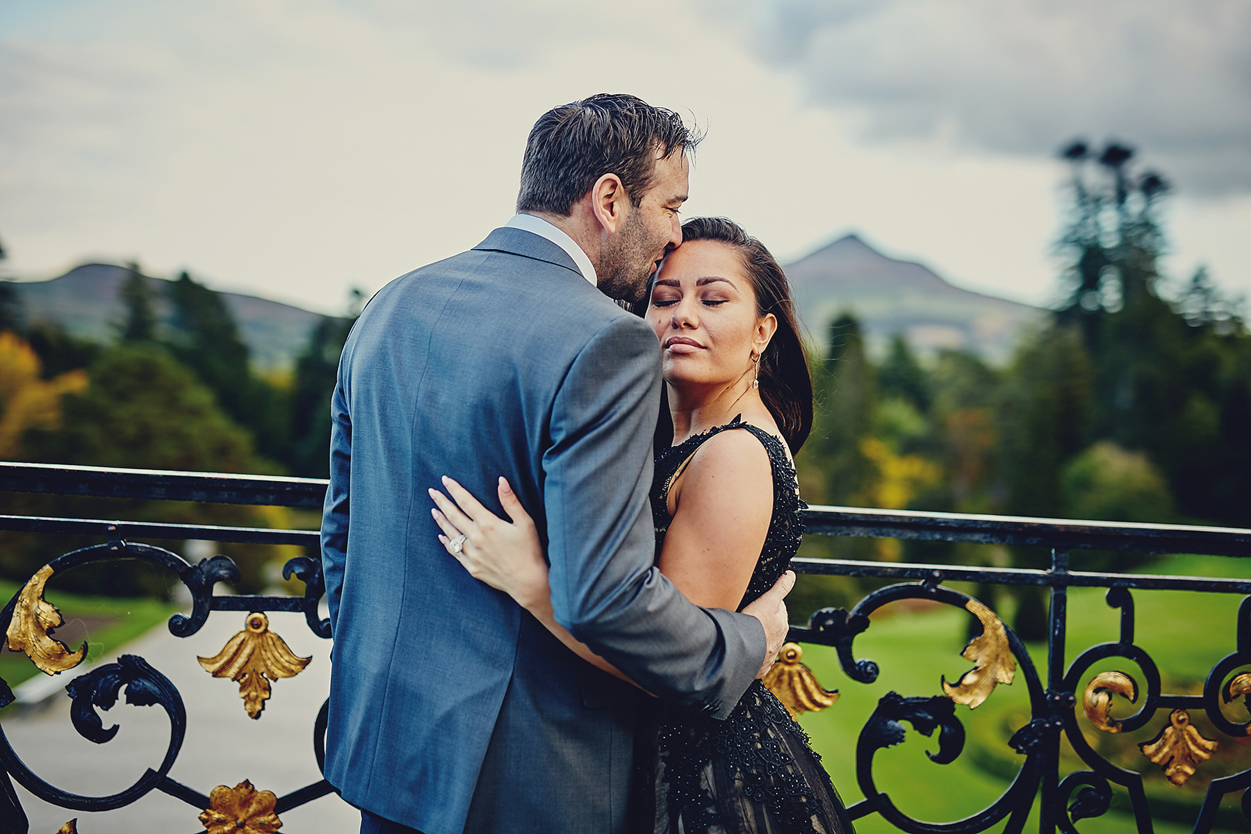 Engagement session Powerscourt Gardens 025
