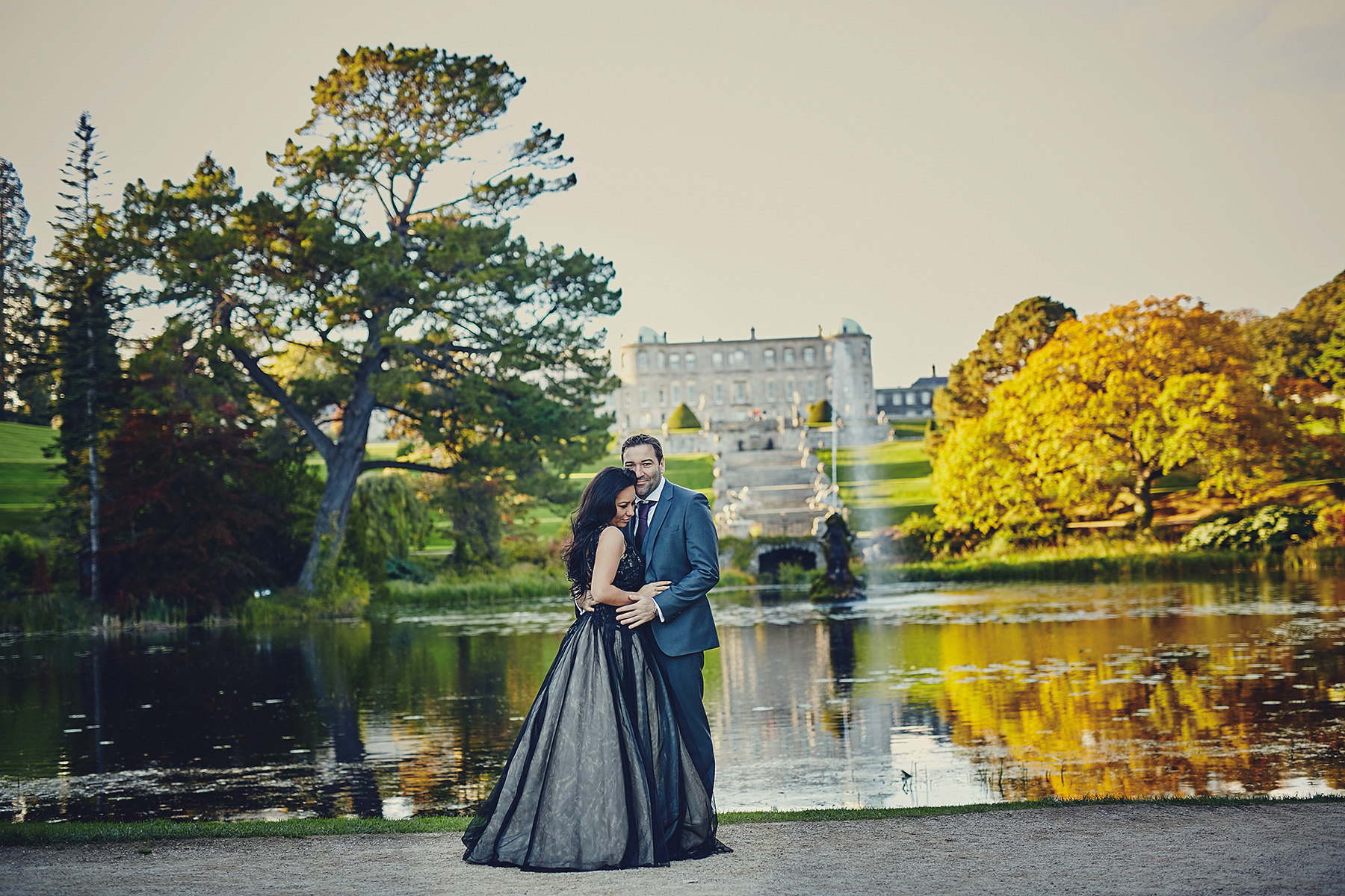 Engagement session Powerscourt Gardens 043