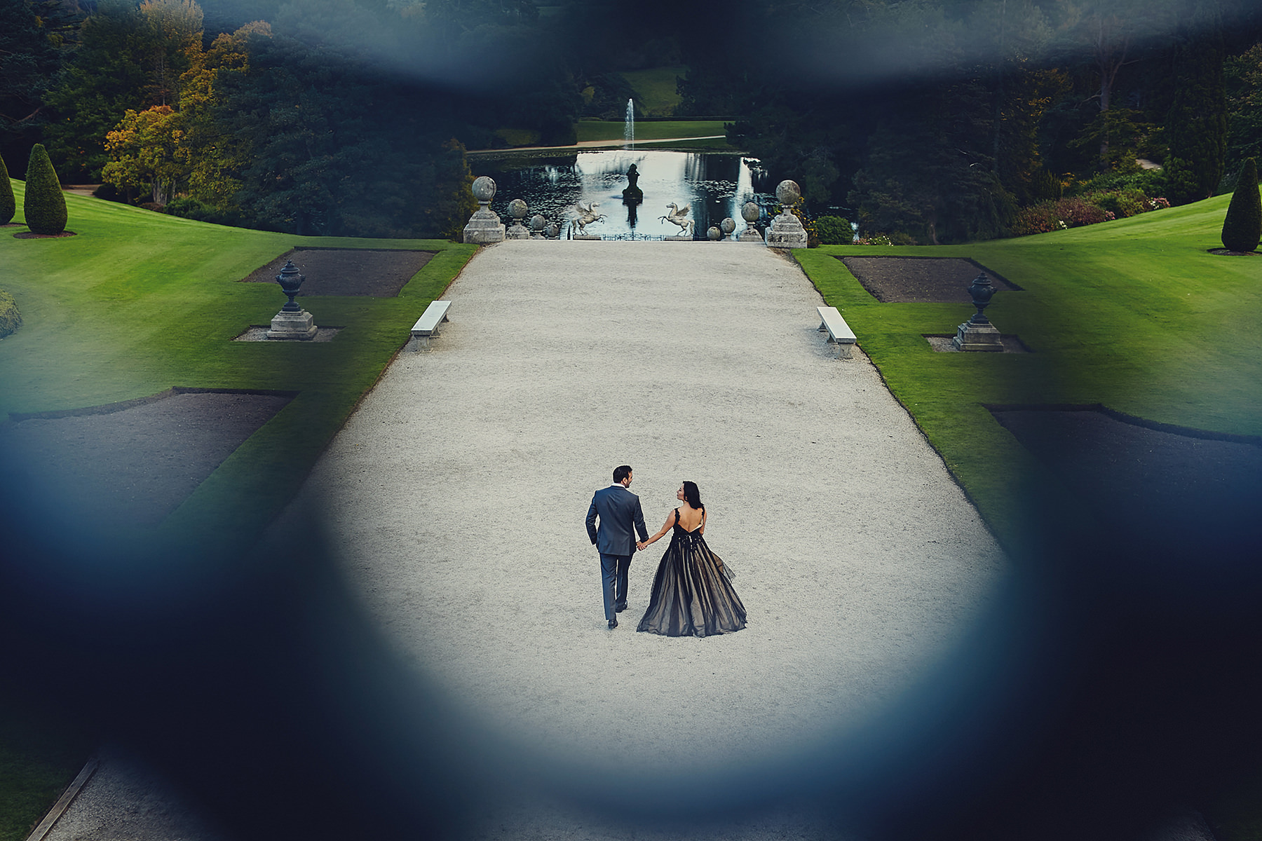 Engagement session Powerscourt Gardens 049