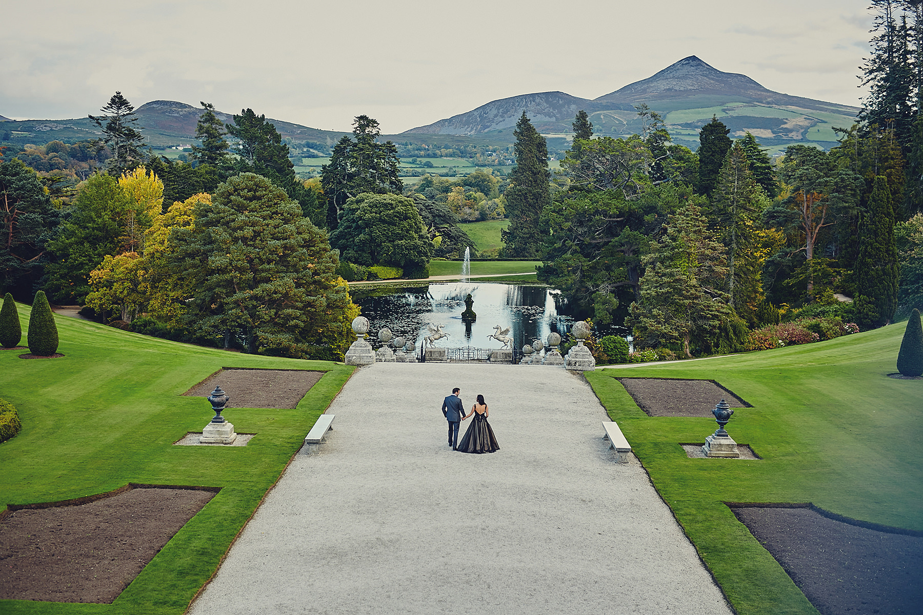 Engagement session Powerscourt Gardens 051