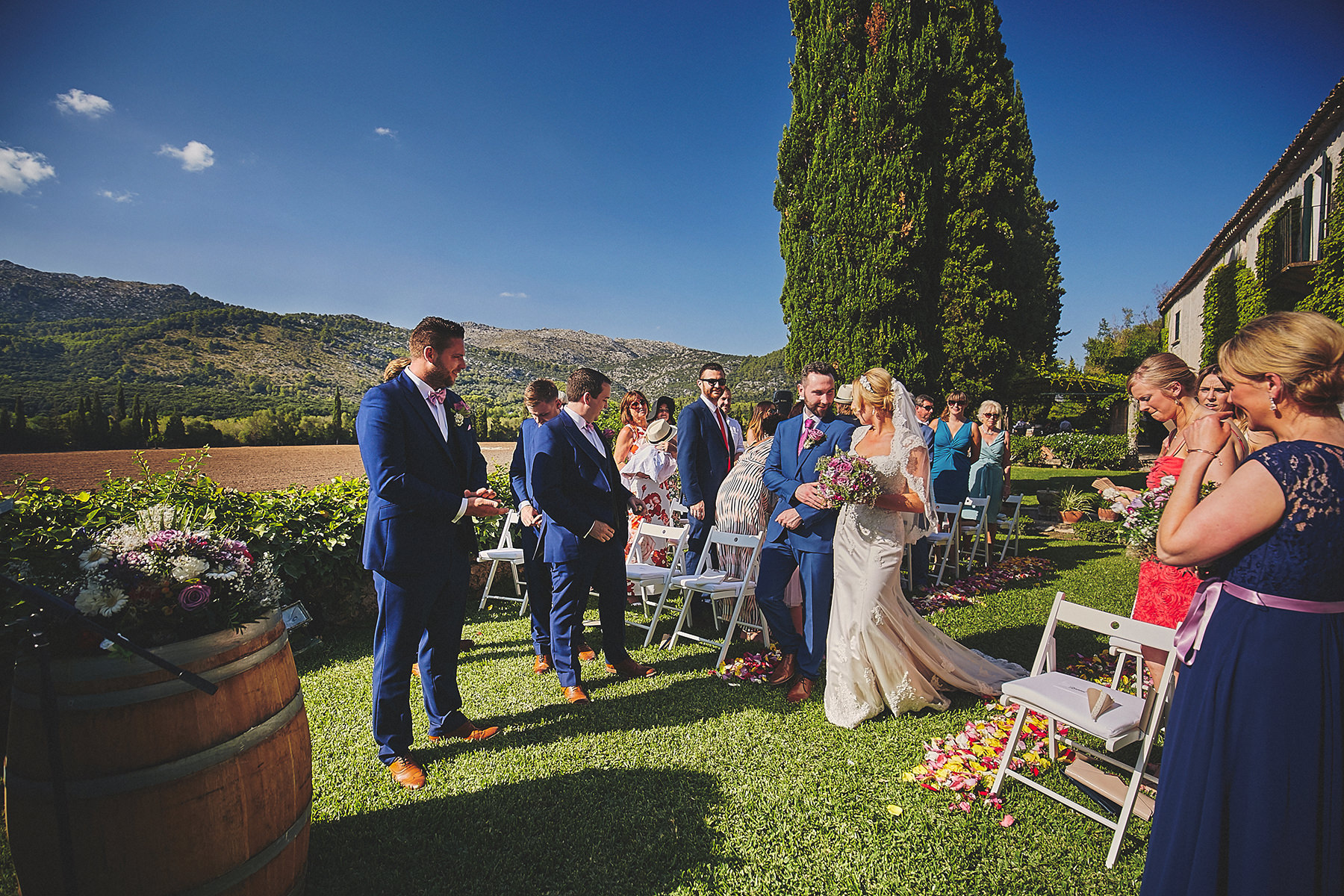 144 - Destination wedding in a magical Mallorca