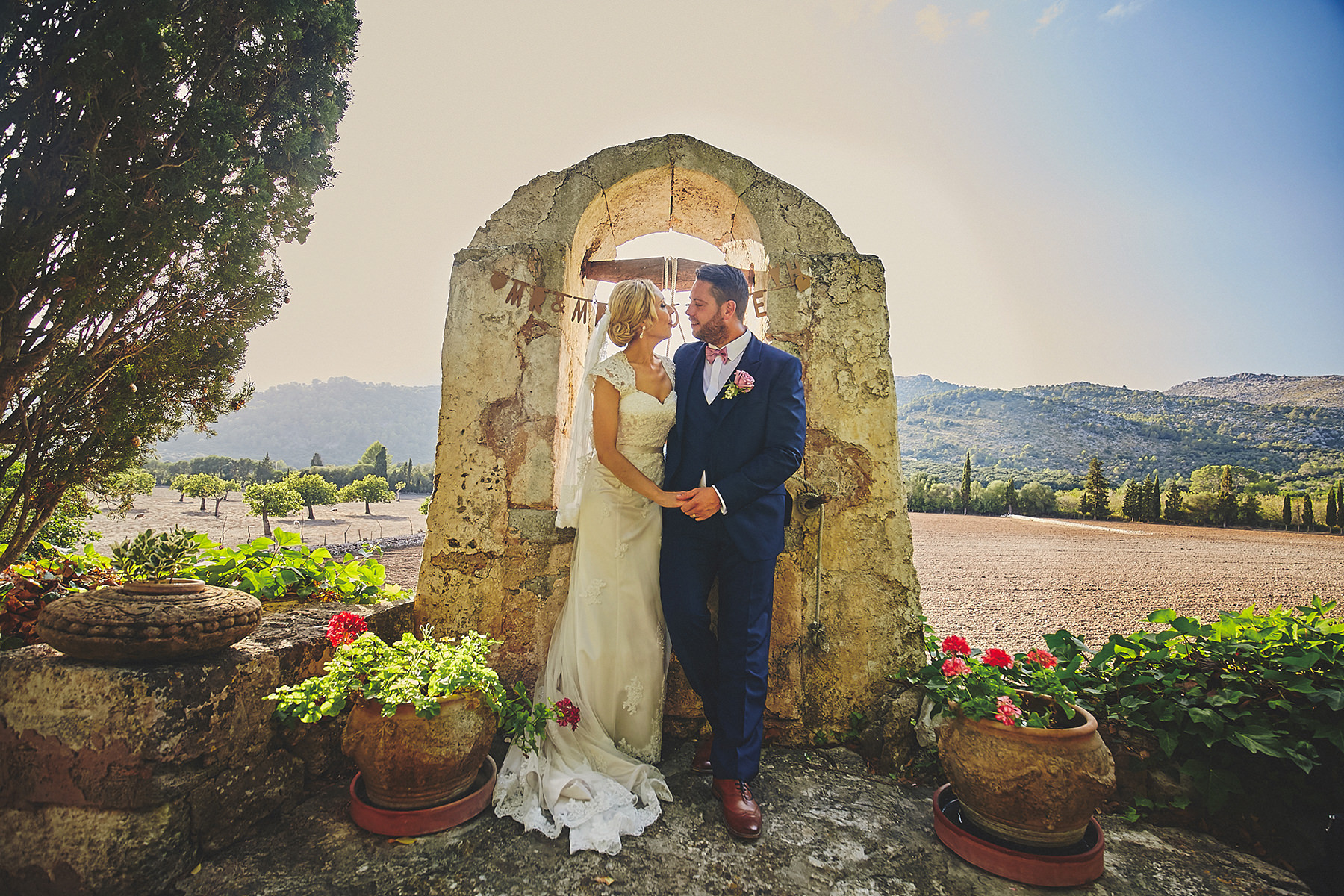 Destination wedding in a magical Mallorca