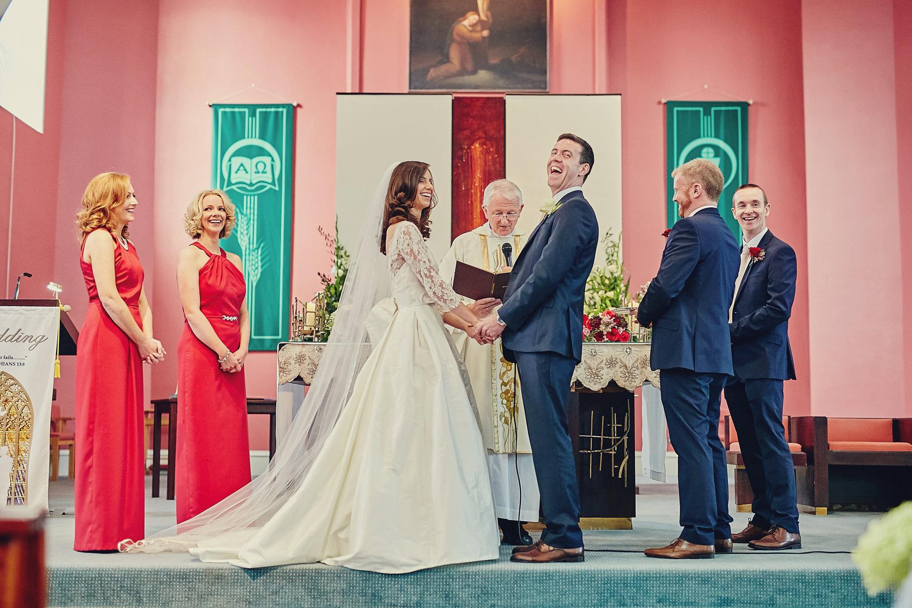 Dunboyne Castle wedding | Emily & David 46