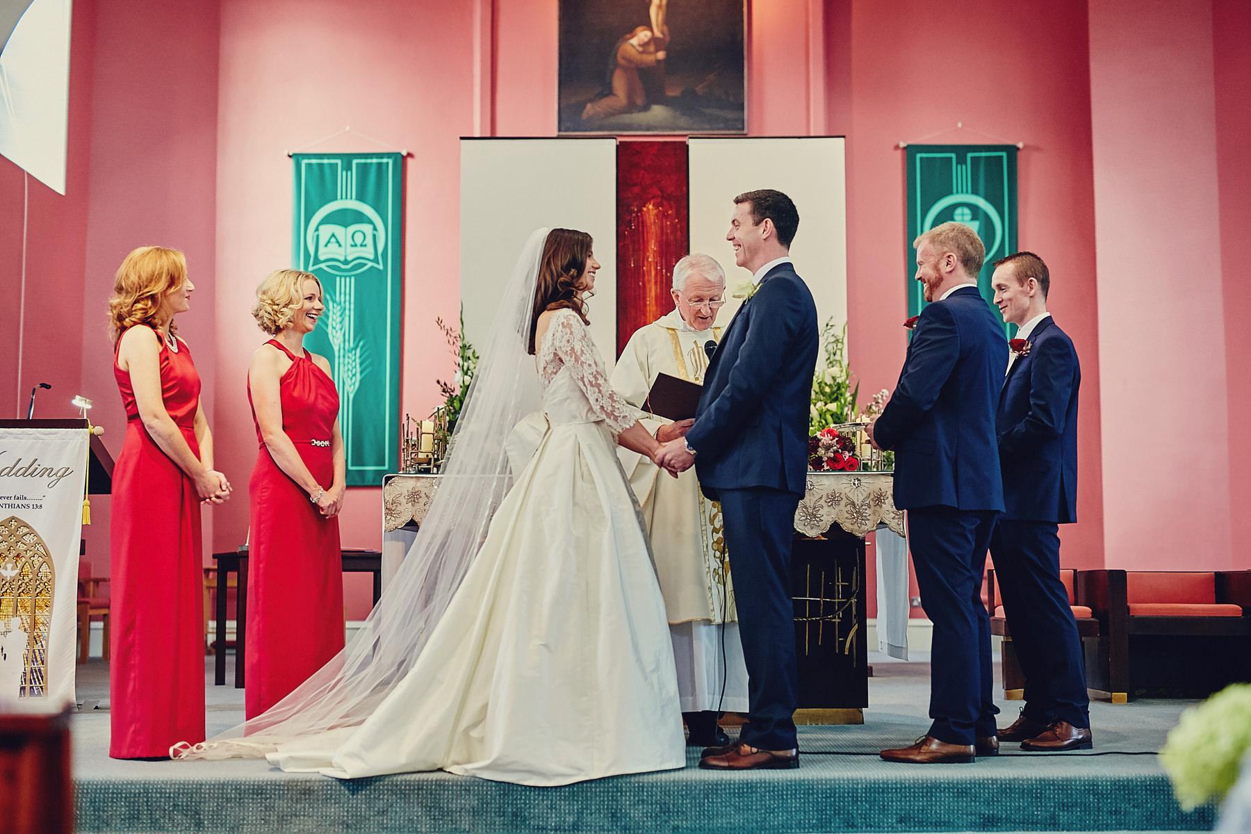 Dunboyne Castle wedding | Emily & David 47