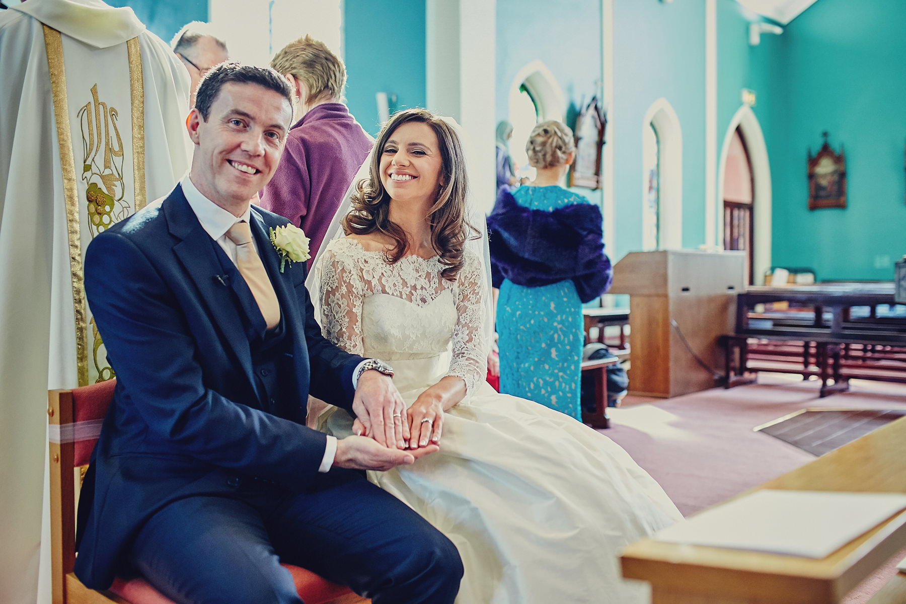 Dunboyne Castle wedding | Emily & David 56
