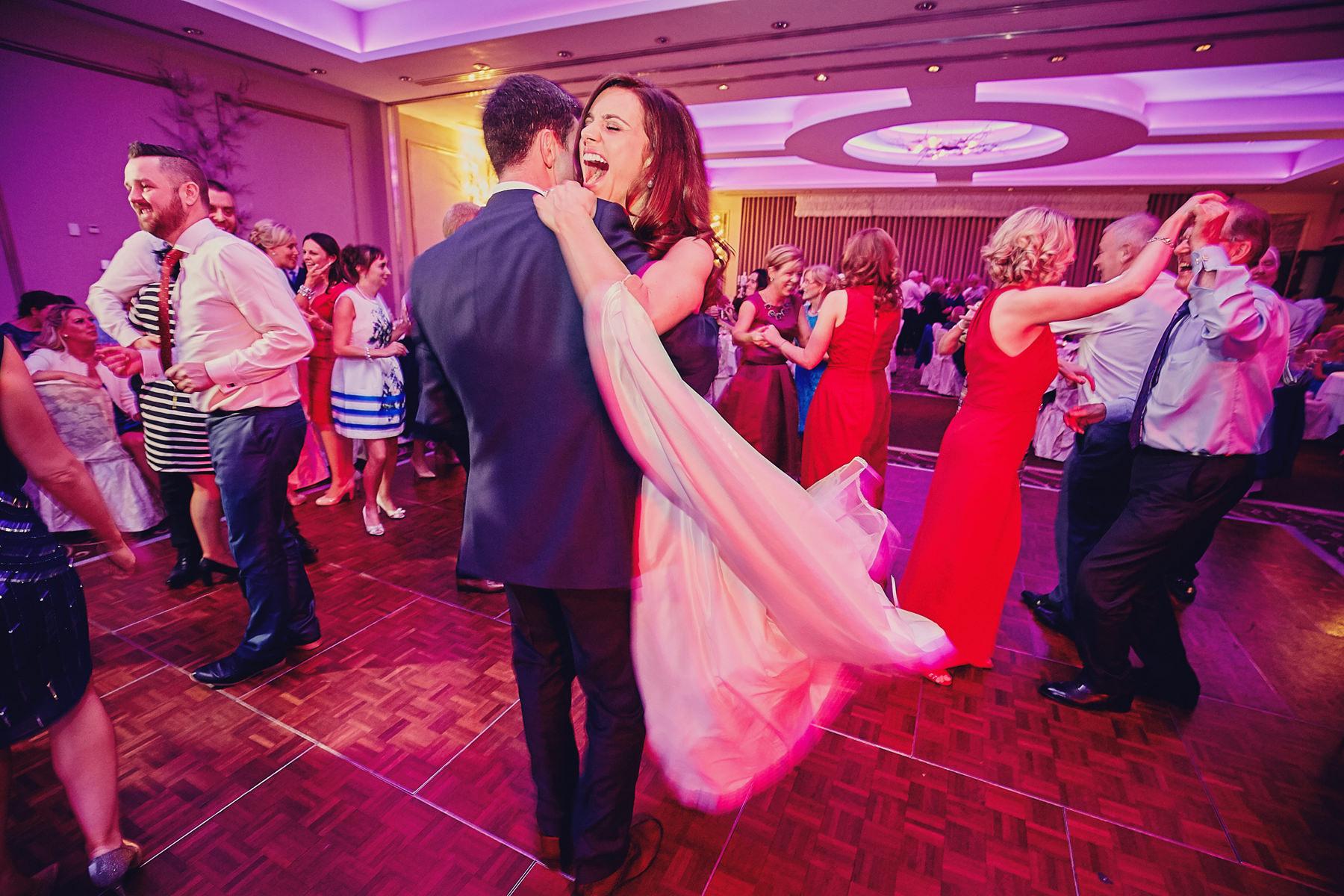 Dunboyne Castle wedding dancing photos