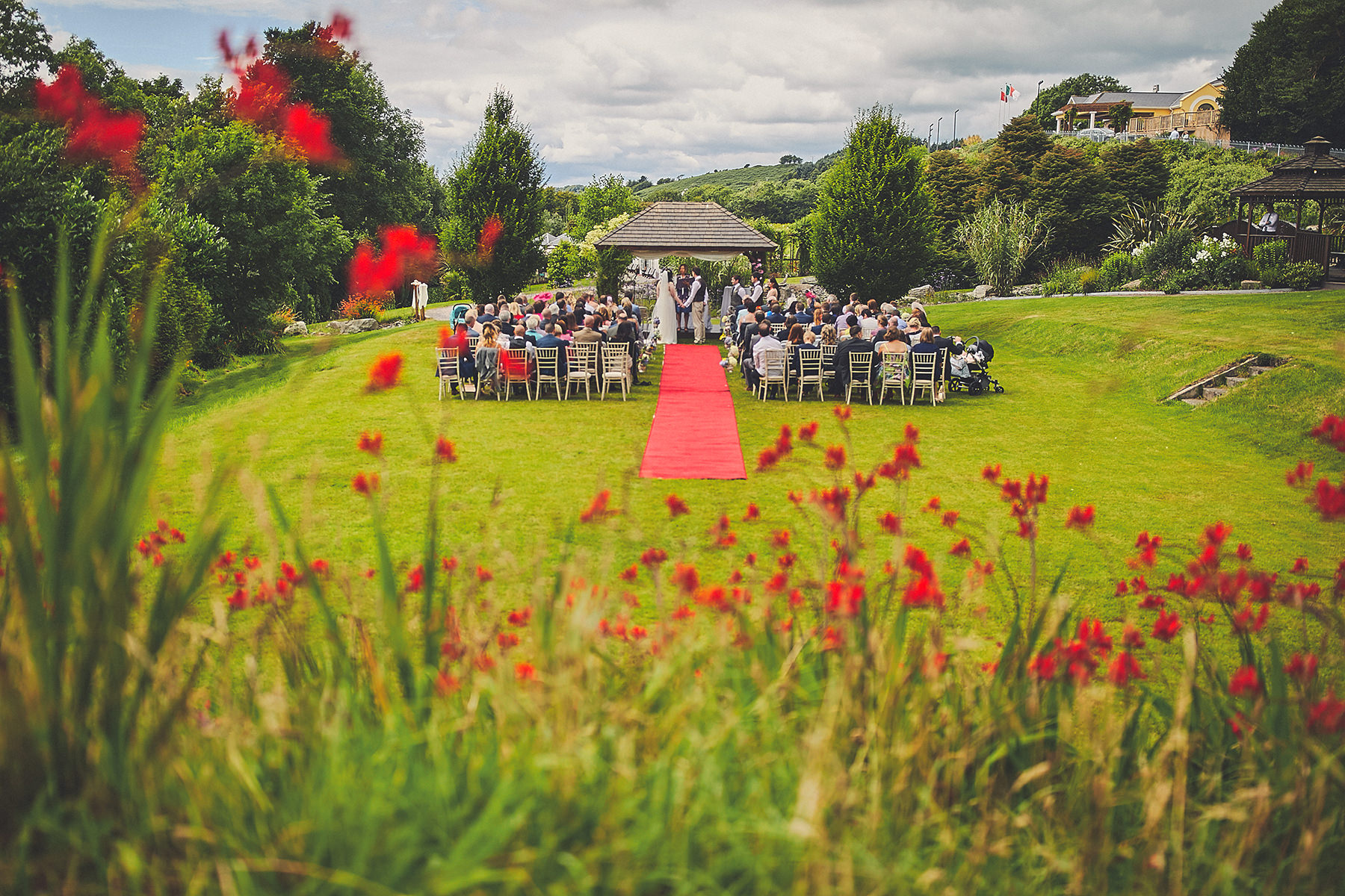 Frenhill house hotel wedding