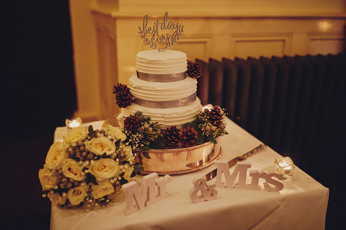 Brooklodge wedding cake