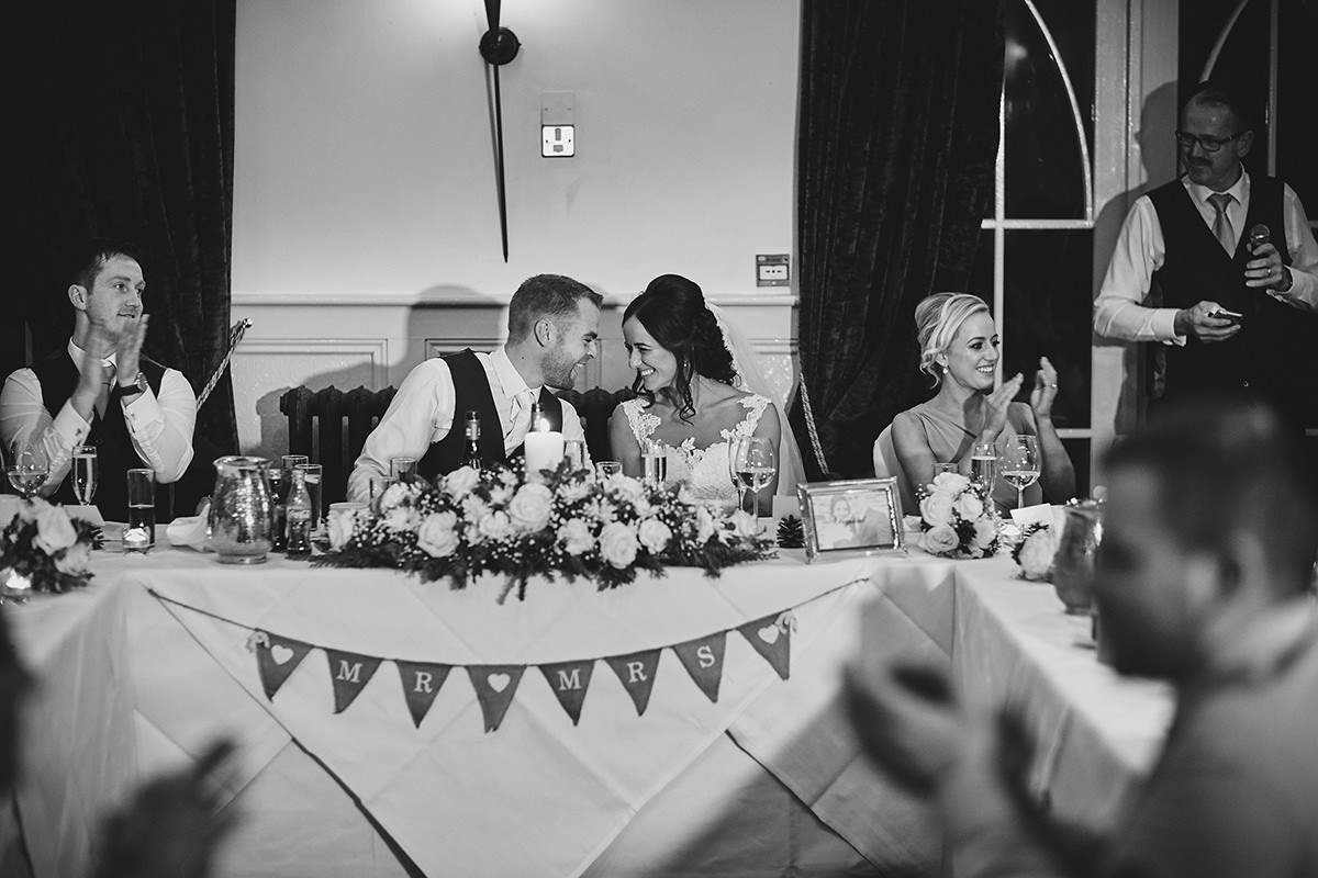Brooklodge wedding speeches