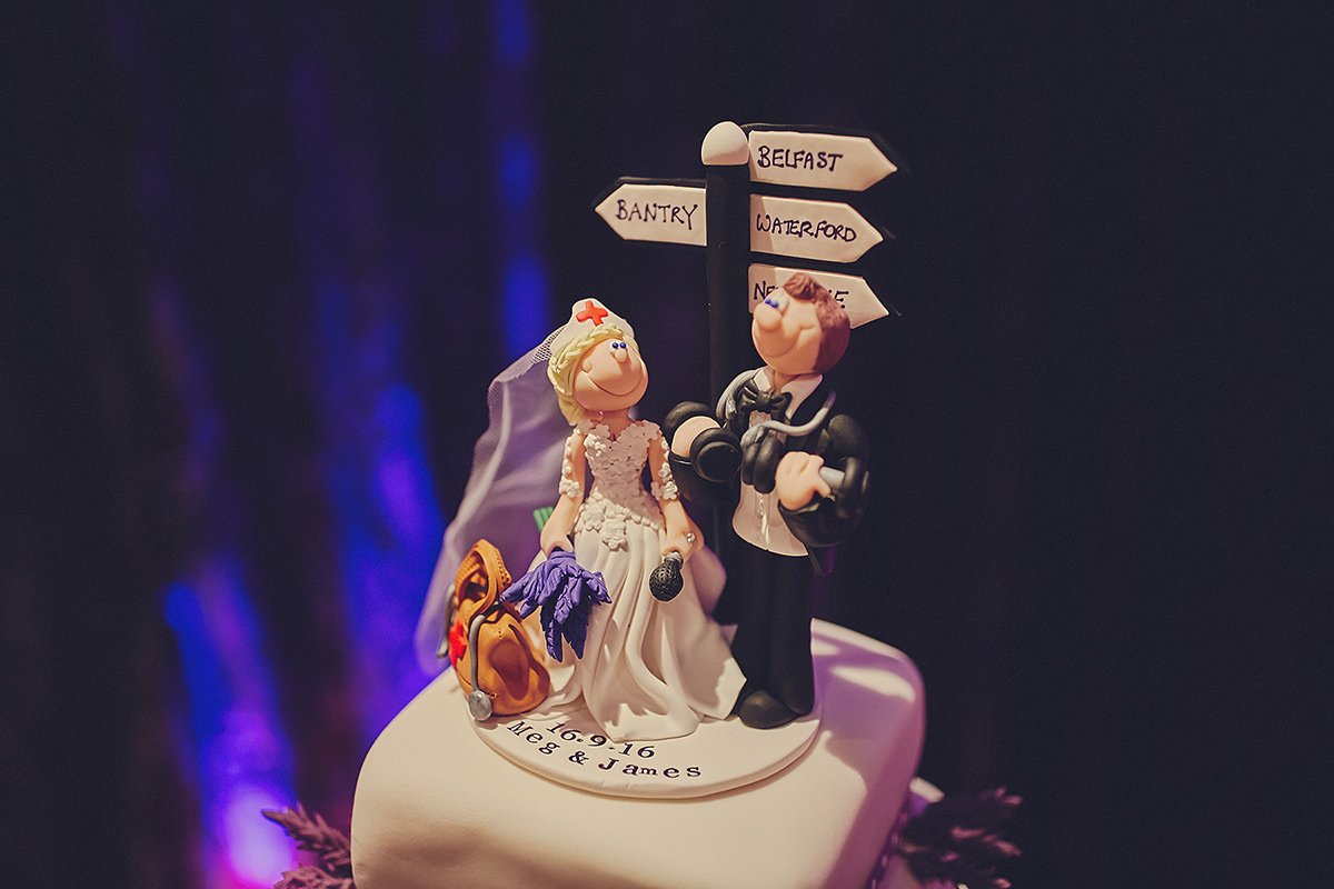 Amazing Wedding Cake Topper Ireland