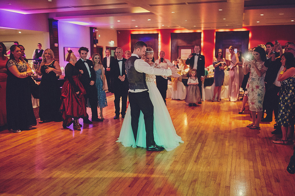 First Dance westlodge hotel wedding