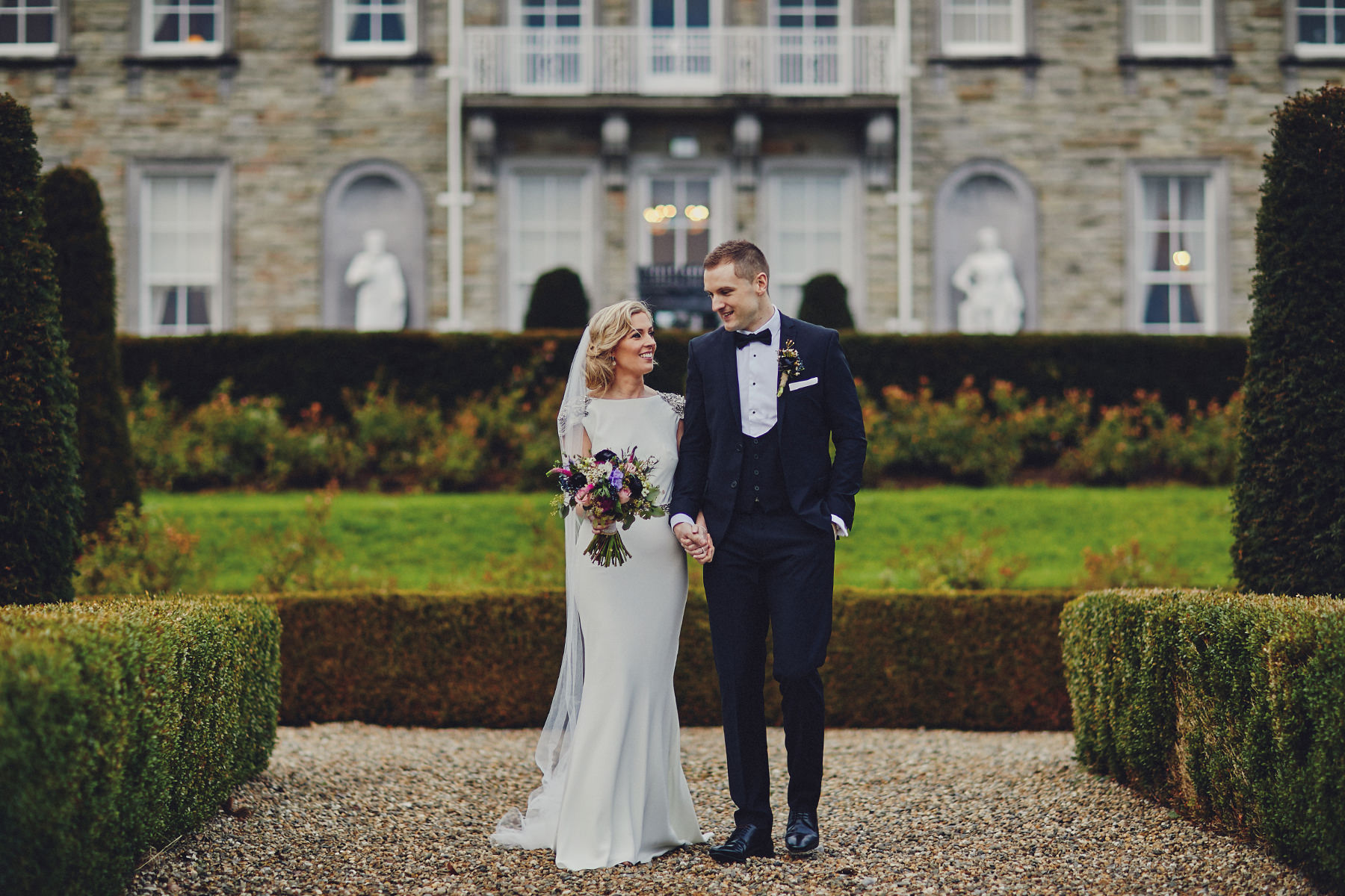 Bride and Groom Palmerstown Estate