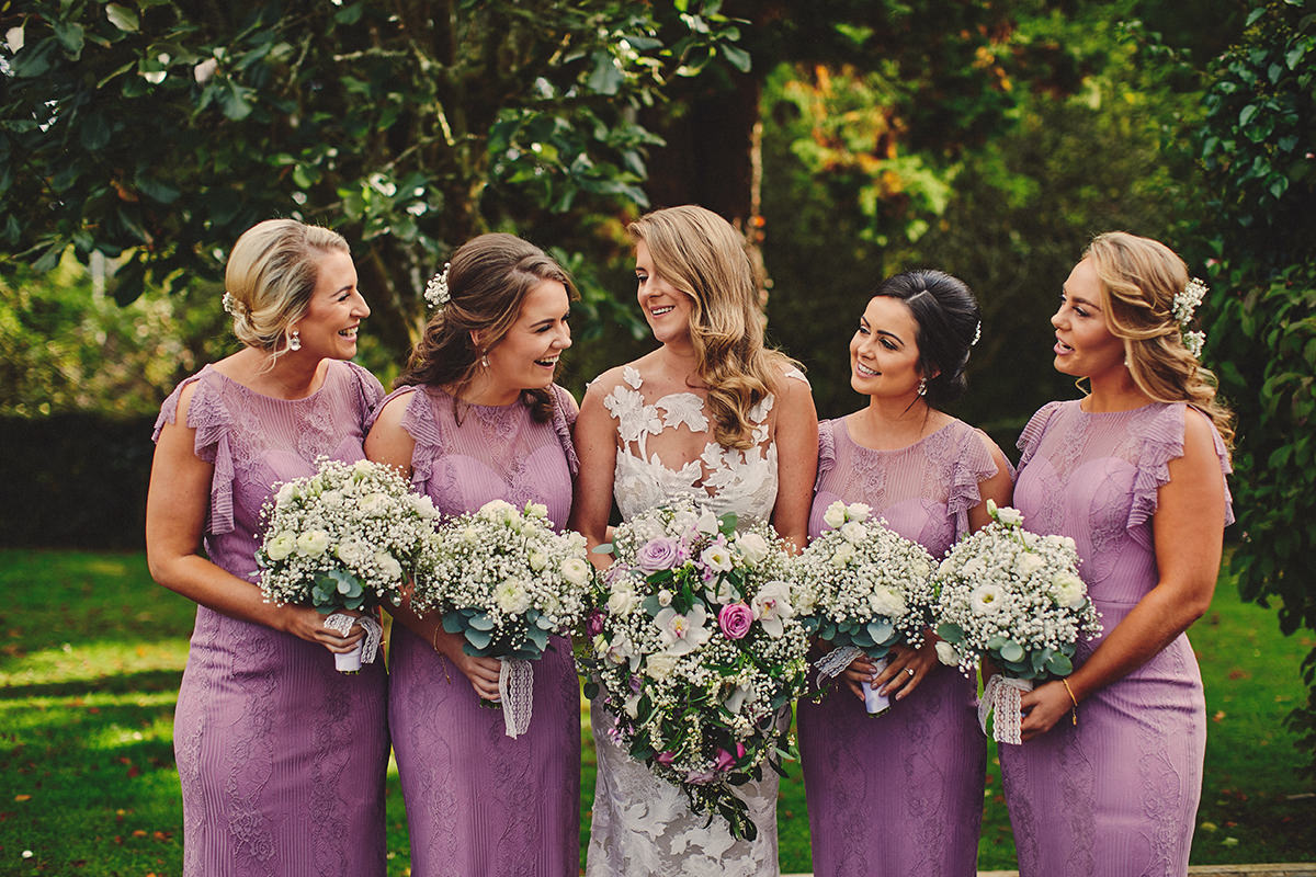 Lough Rynn Bridesmaids
