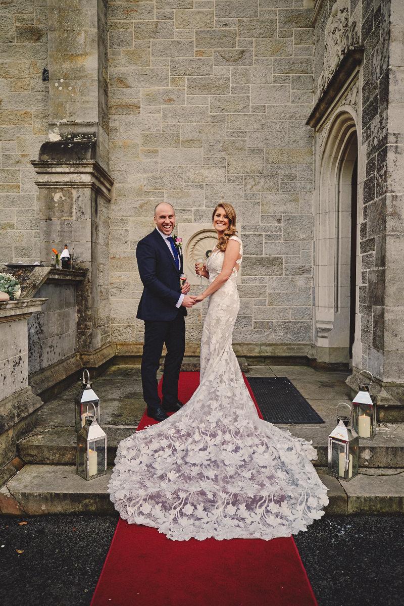 Lough Rynn Castle wedding photos