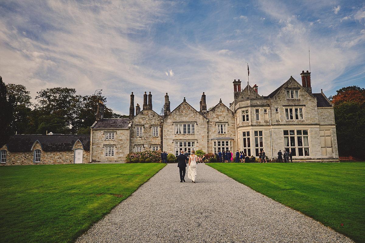 wedding photos Lough Rynn Castle