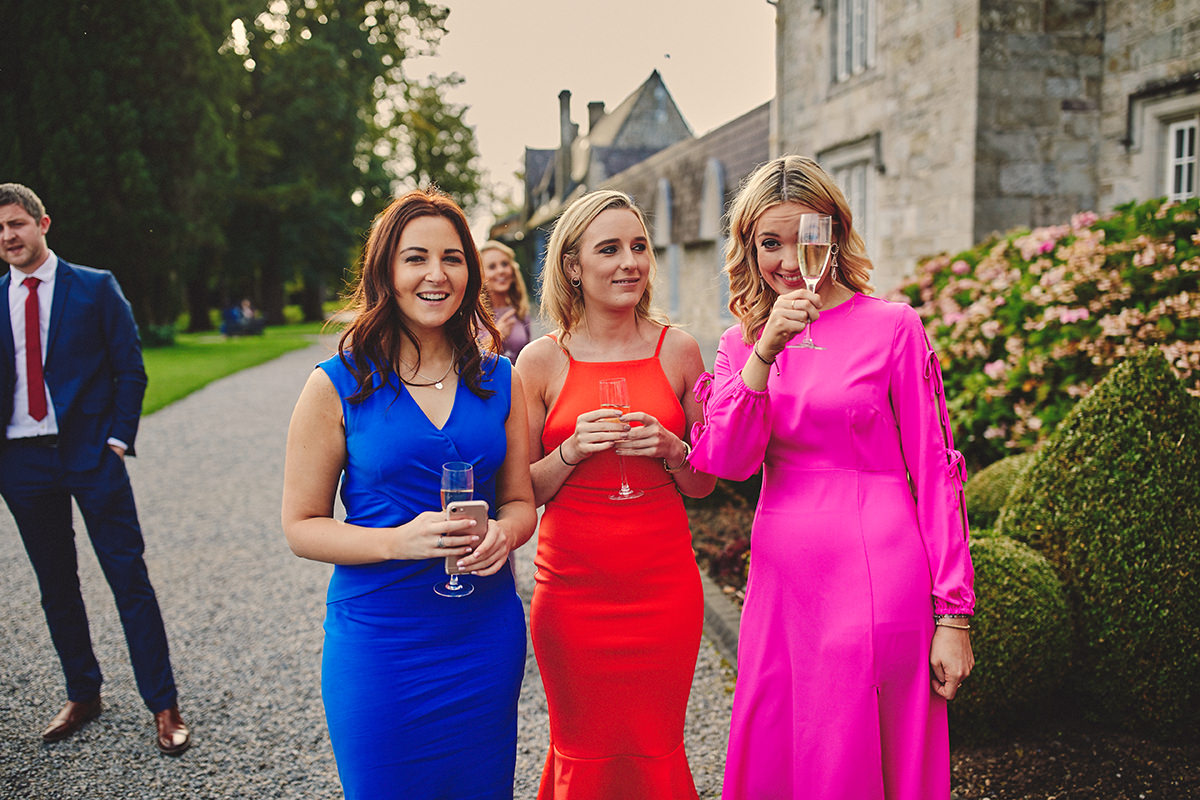 Lough Rynn Castle wedding | C&R 95