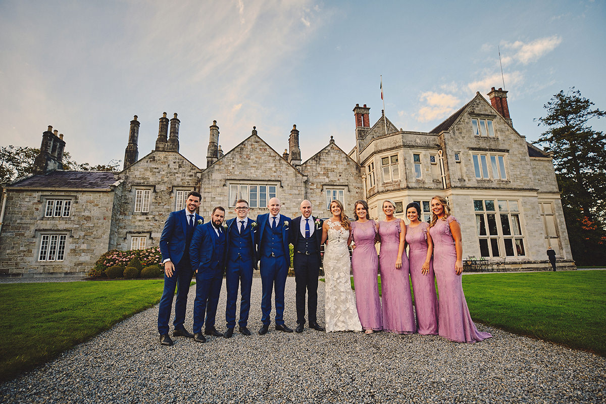 Lough Rynn Castle wedding