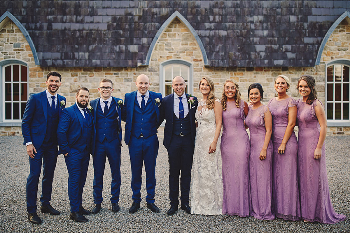 Lough Rynn Castle wedding | C&R 108