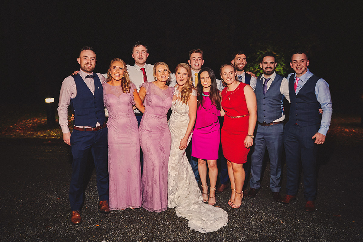 Lough Rynn Castle wedding | C&R 142