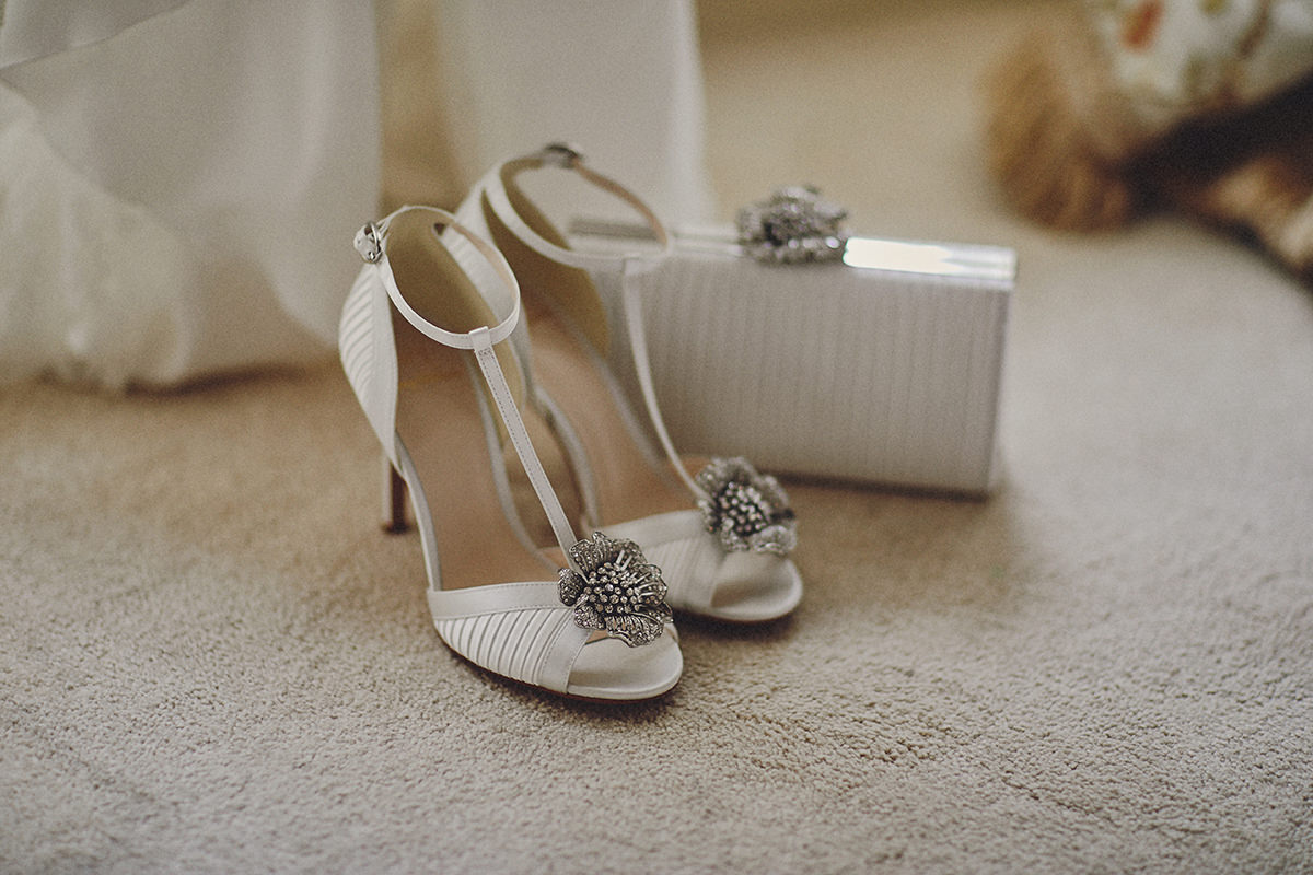 Tankardstown House wedding shoes