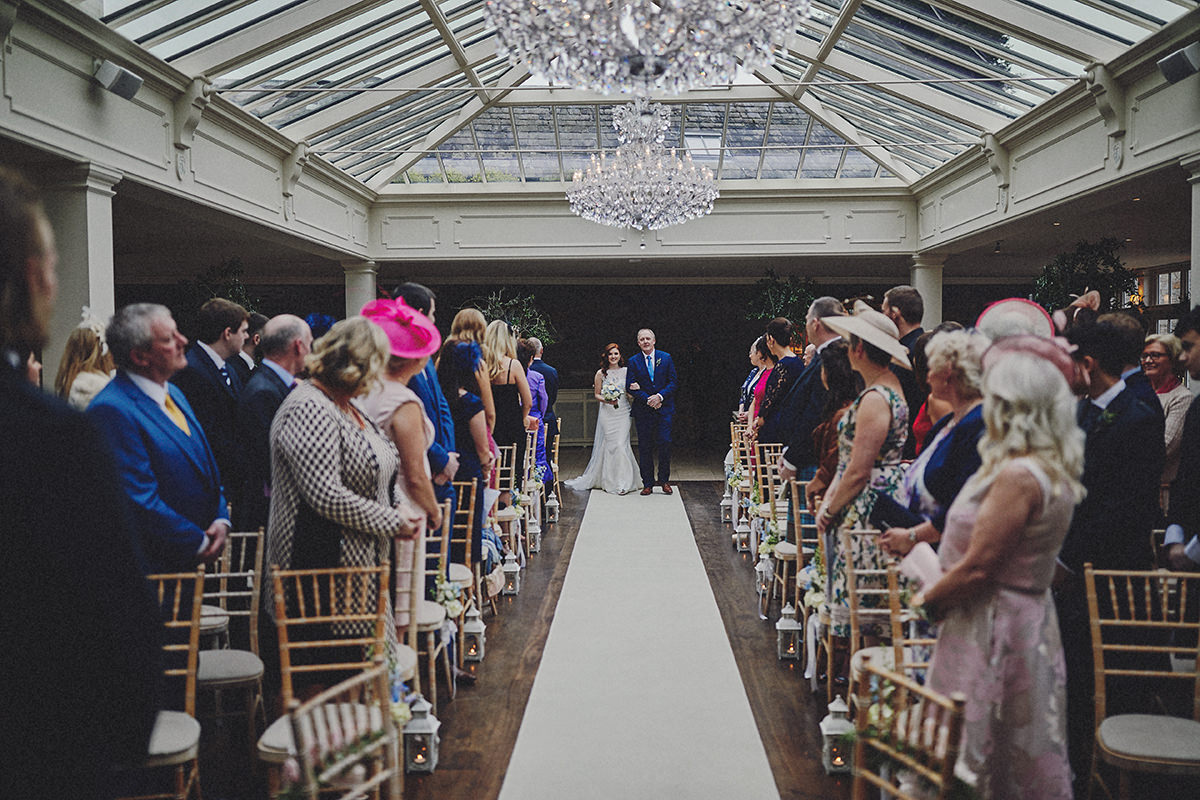 ireland wedding ceremony tankardstown house
