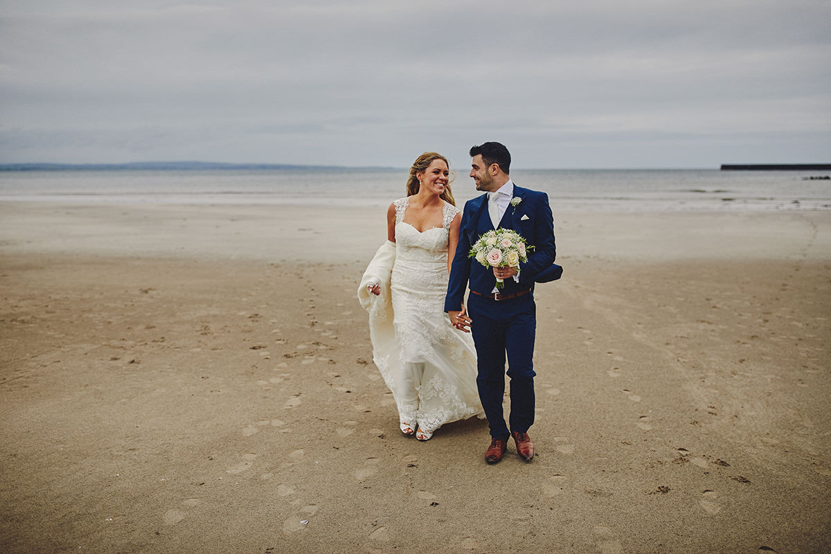 Beach Sligo Wedding photos