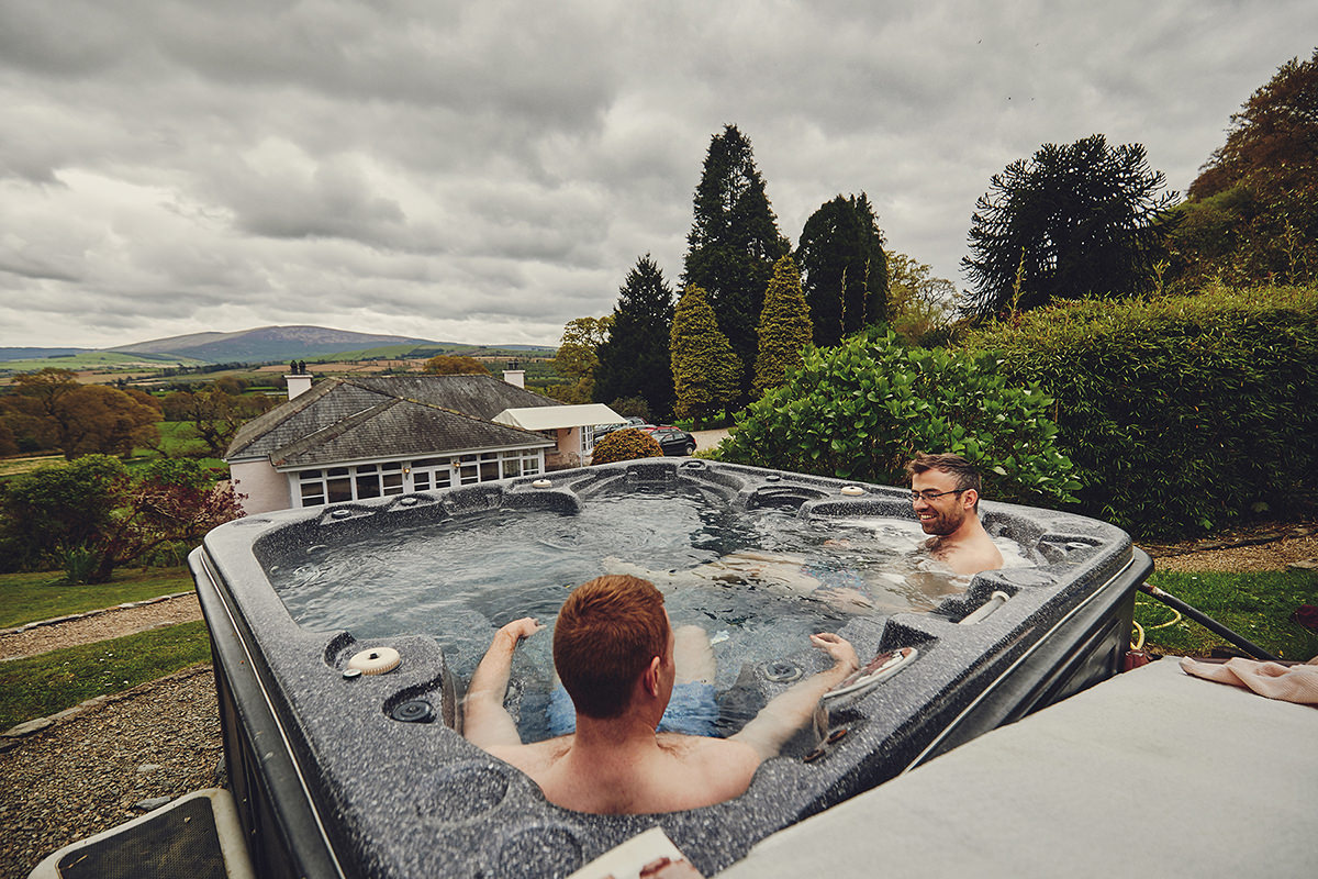 hot tube Ballybeg House