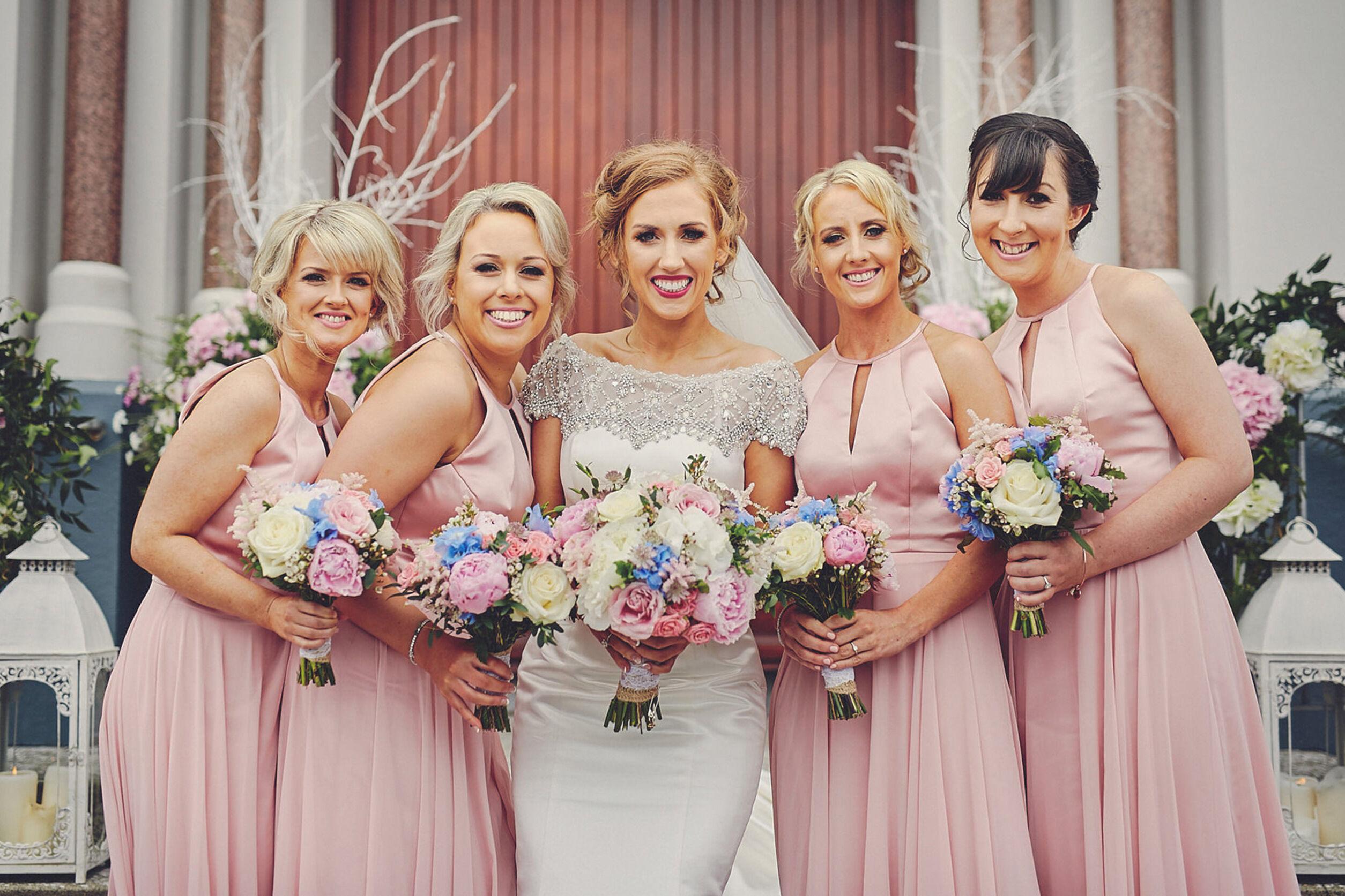 Colour palette for Bridesmaid Dresses