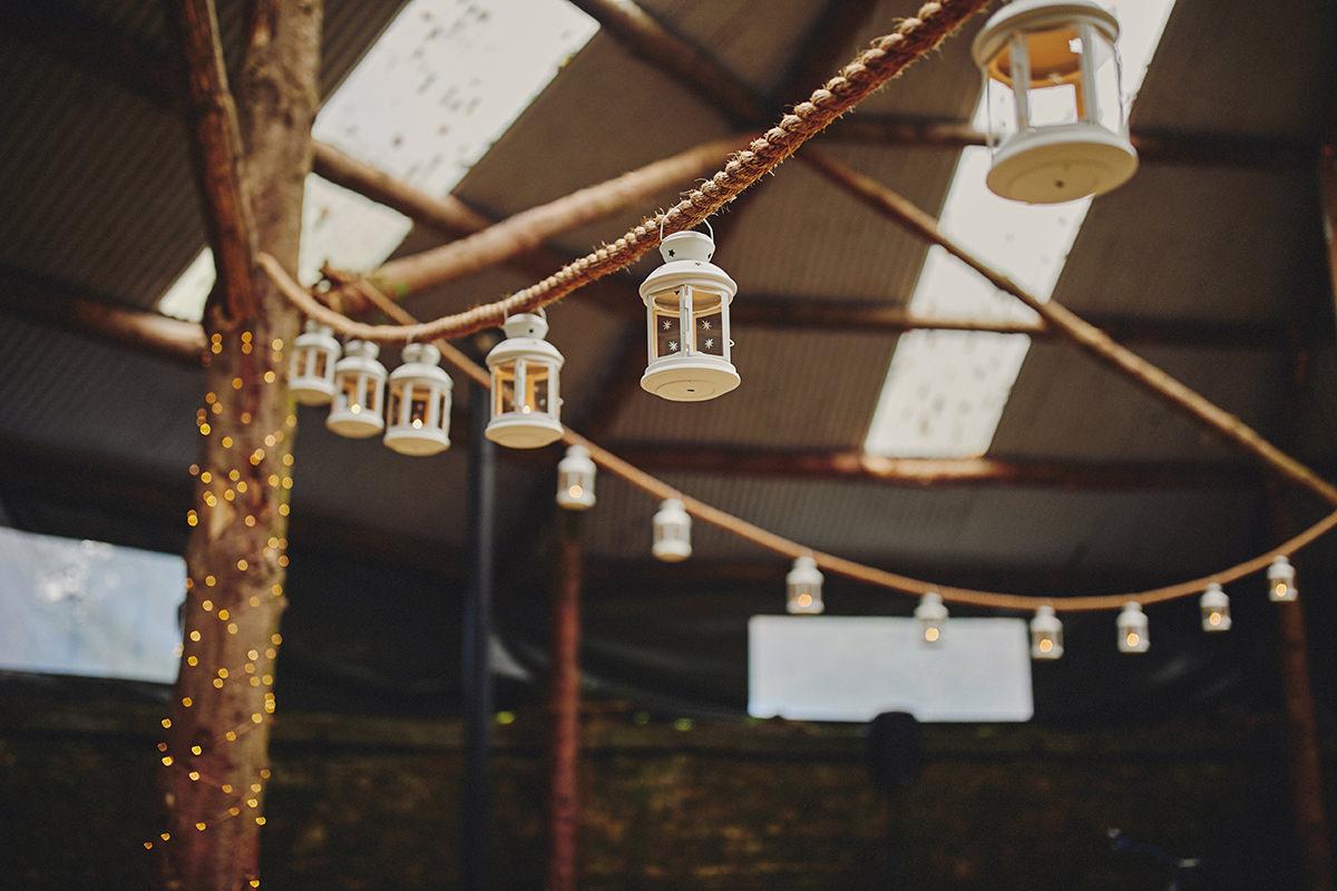 Rustic Barn Wedding - Lisnavagh House