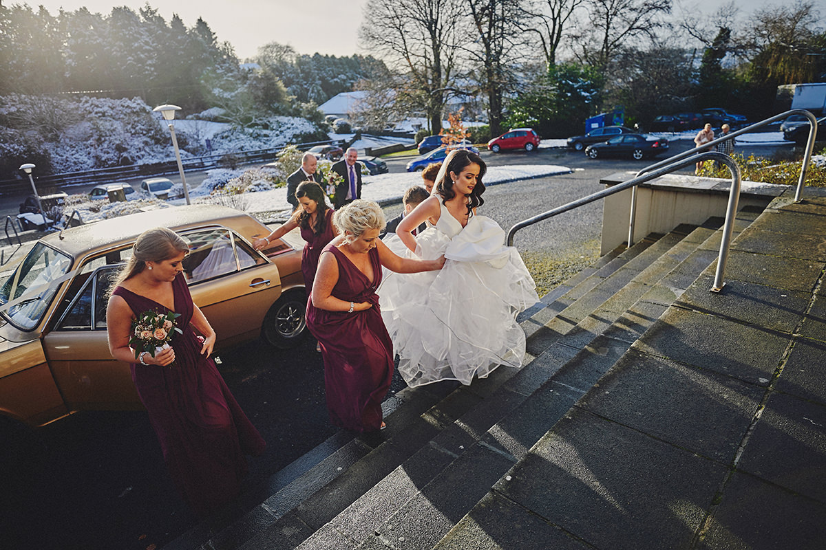 Irish Winter Wedding | Cavan Crystal Hotel 28