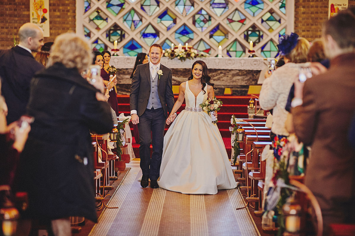 Irish Winter Wedding | Cavan Crystal Hotel 50