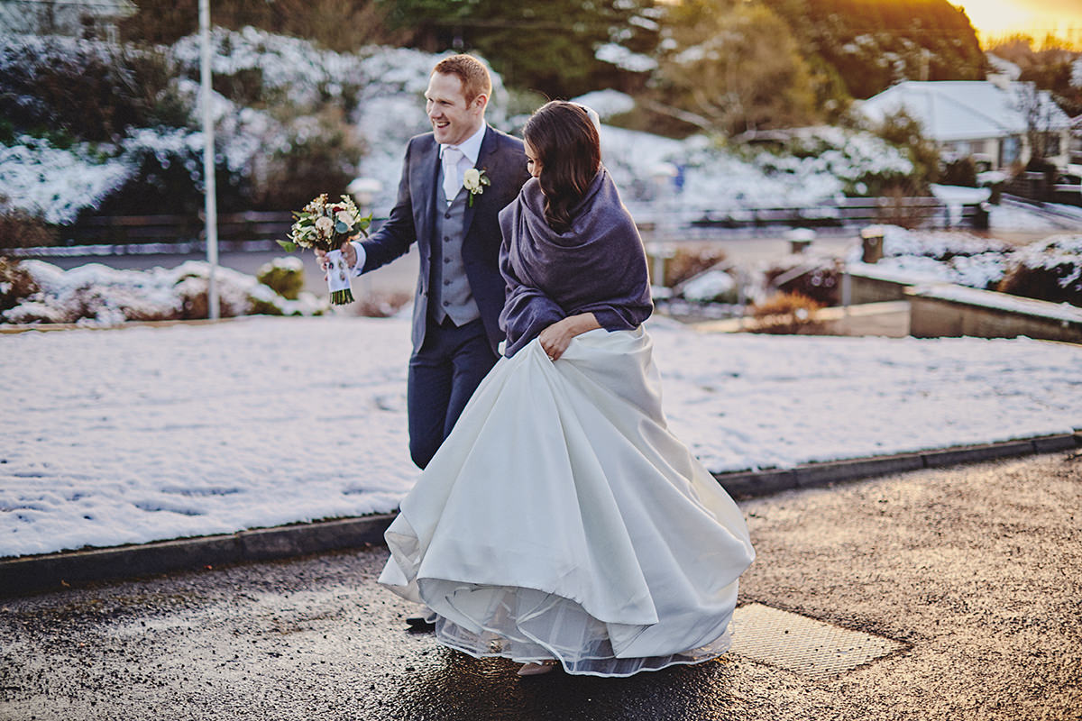 Irish Winter Wedding | Cavan Crystal Hotel 57
