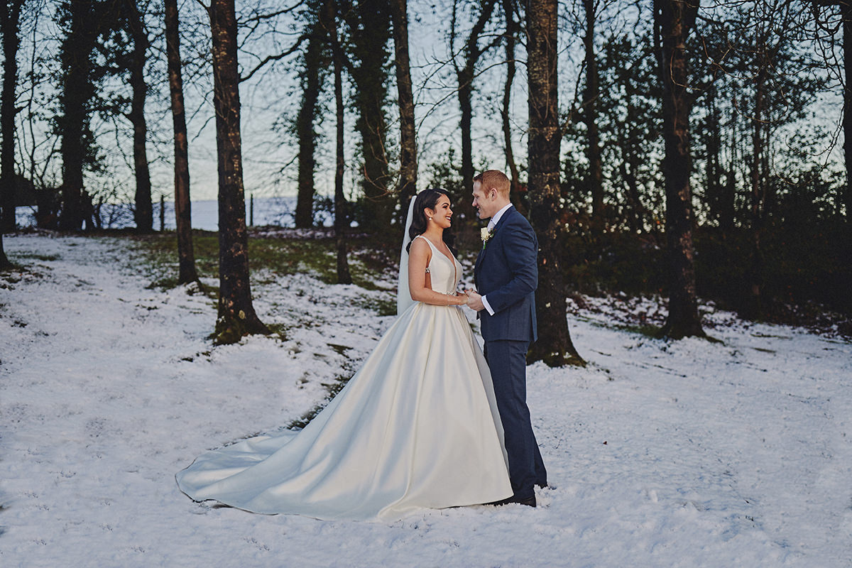 Irish Winter Wedding | Cavan Crystal Hotel 61