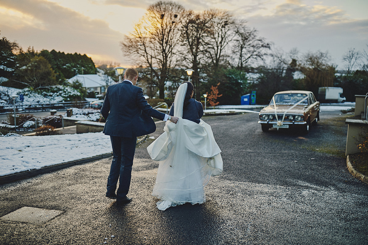 Irish Winter Wedding | Cavan Crystal Hotel 63