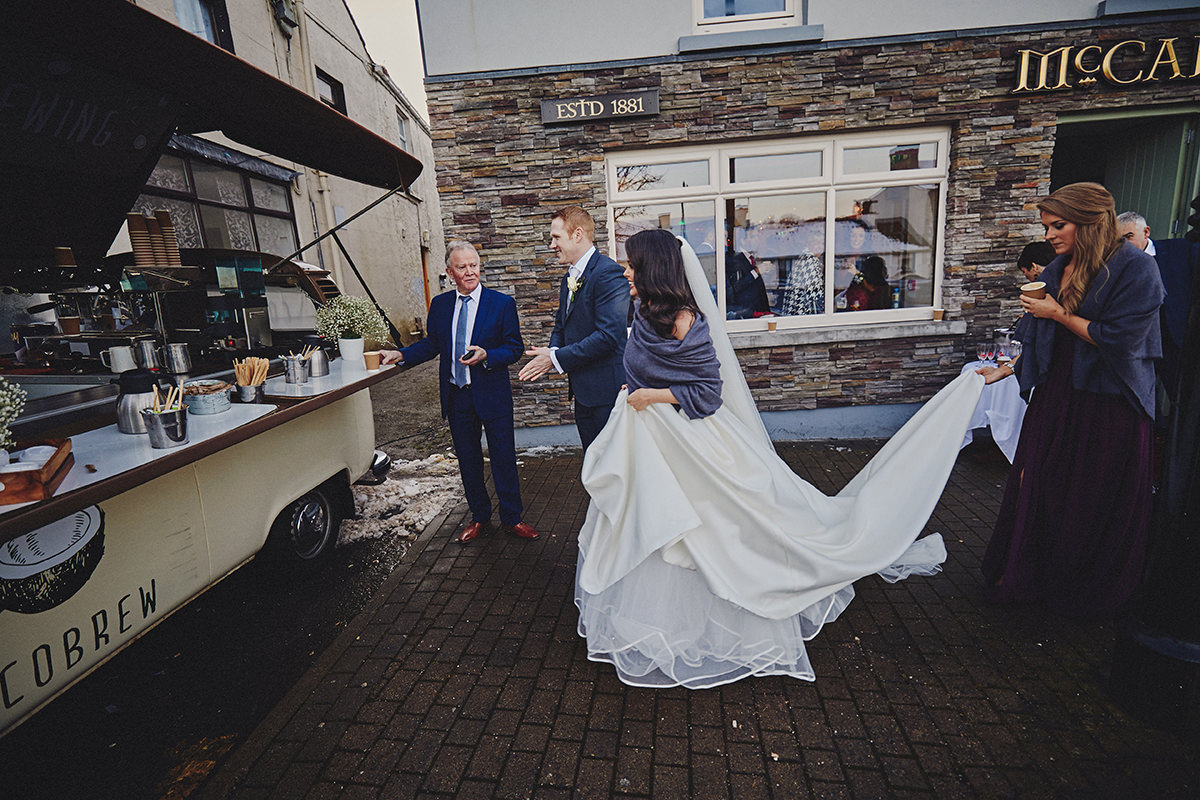 Irish Winter Wedding | Cavan Crystal Hotel 66