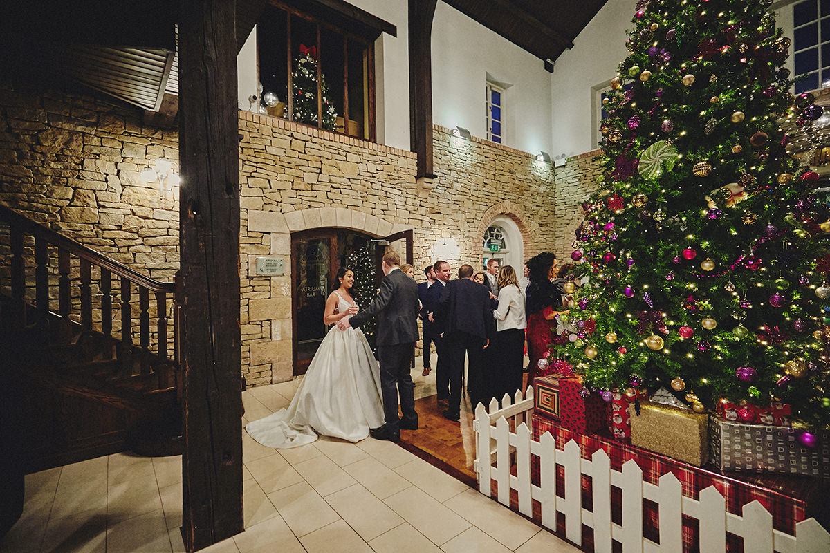 Irish Winter Wedding | Cavan Crystal Hotel 85