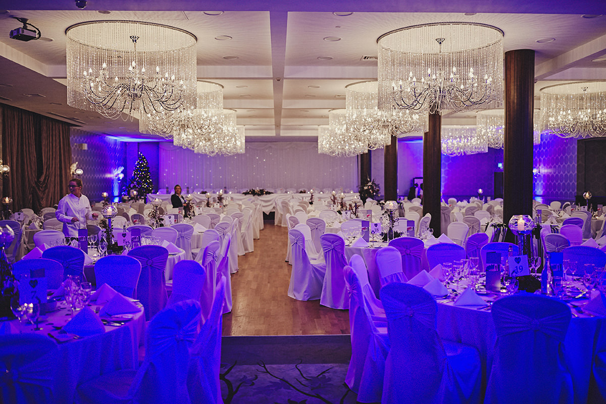 Irish Winter Wedding | Cavan Crystal Hotel 89