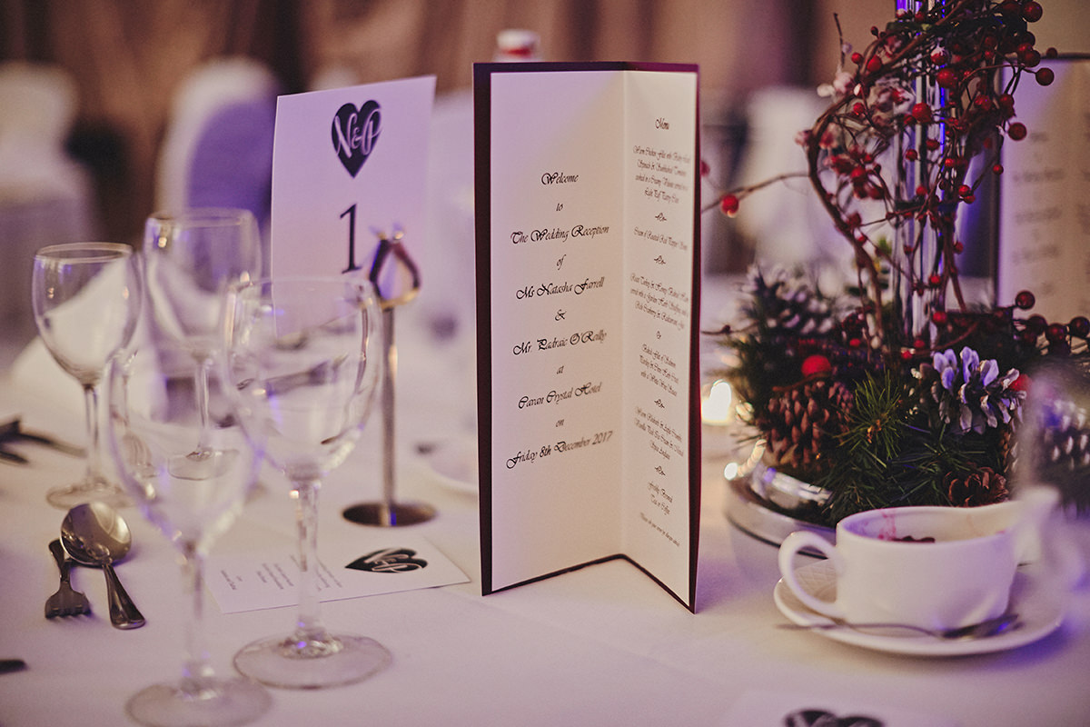 Irish Winter Wedding | Cavan Crystal Hotel 90
