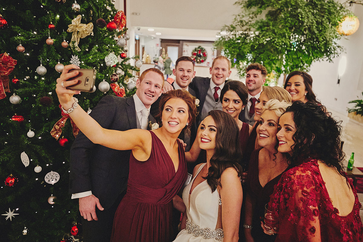 Irish Winter Wedding | Cavan Crystal Hotel 98