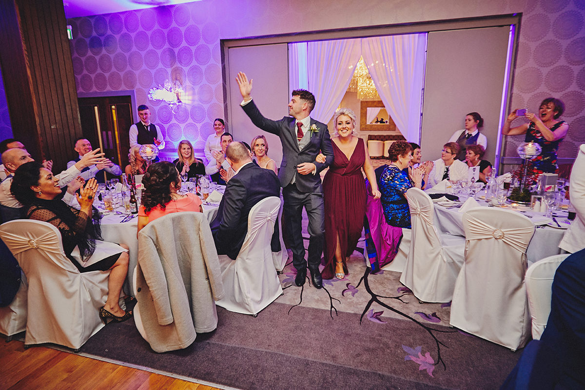 Irish Winter Wedding | Cavan Crystal Hotel 100