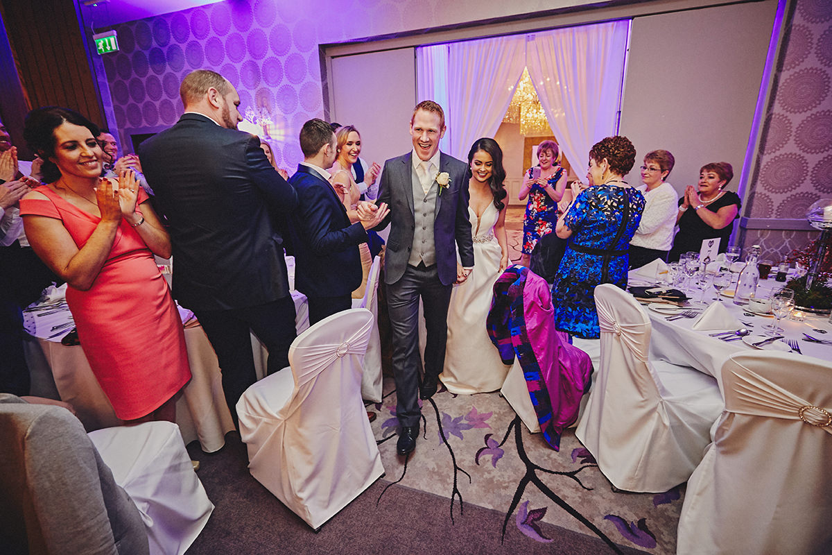 Irish Winter Wedding | Cavan Crystal Hotel 102