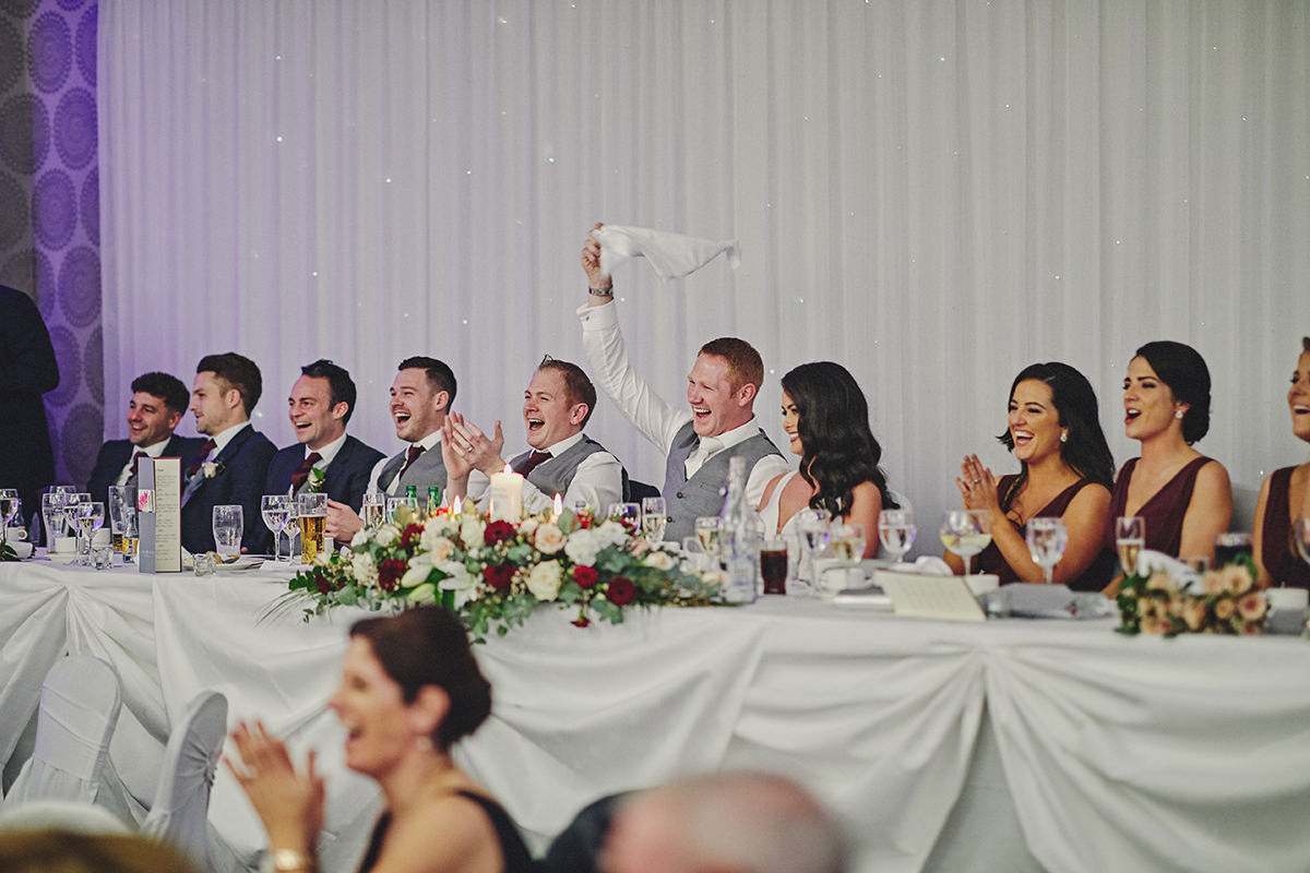 Irish Winter Wedding | Cavan Crystal Hotel 110