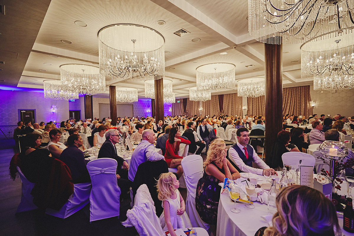 Irish Winter Wedding | Cavan Crystal Hotel 113